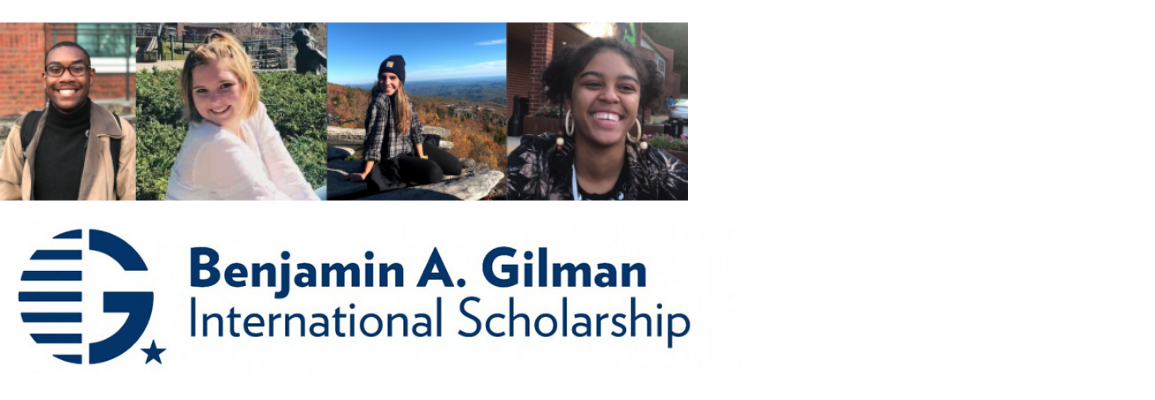 Gilman Recipients of 2020
