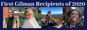 Gilman Recipients